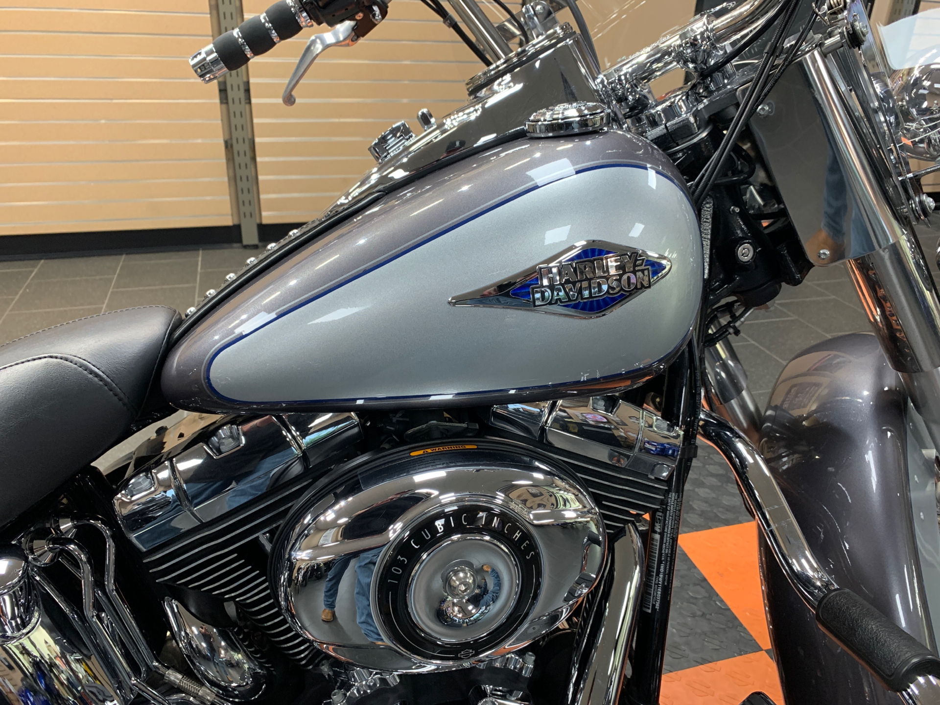 2014 Harley-Davidson Heritage Softail® Classic in The Woodlands, Texas - Photo 7