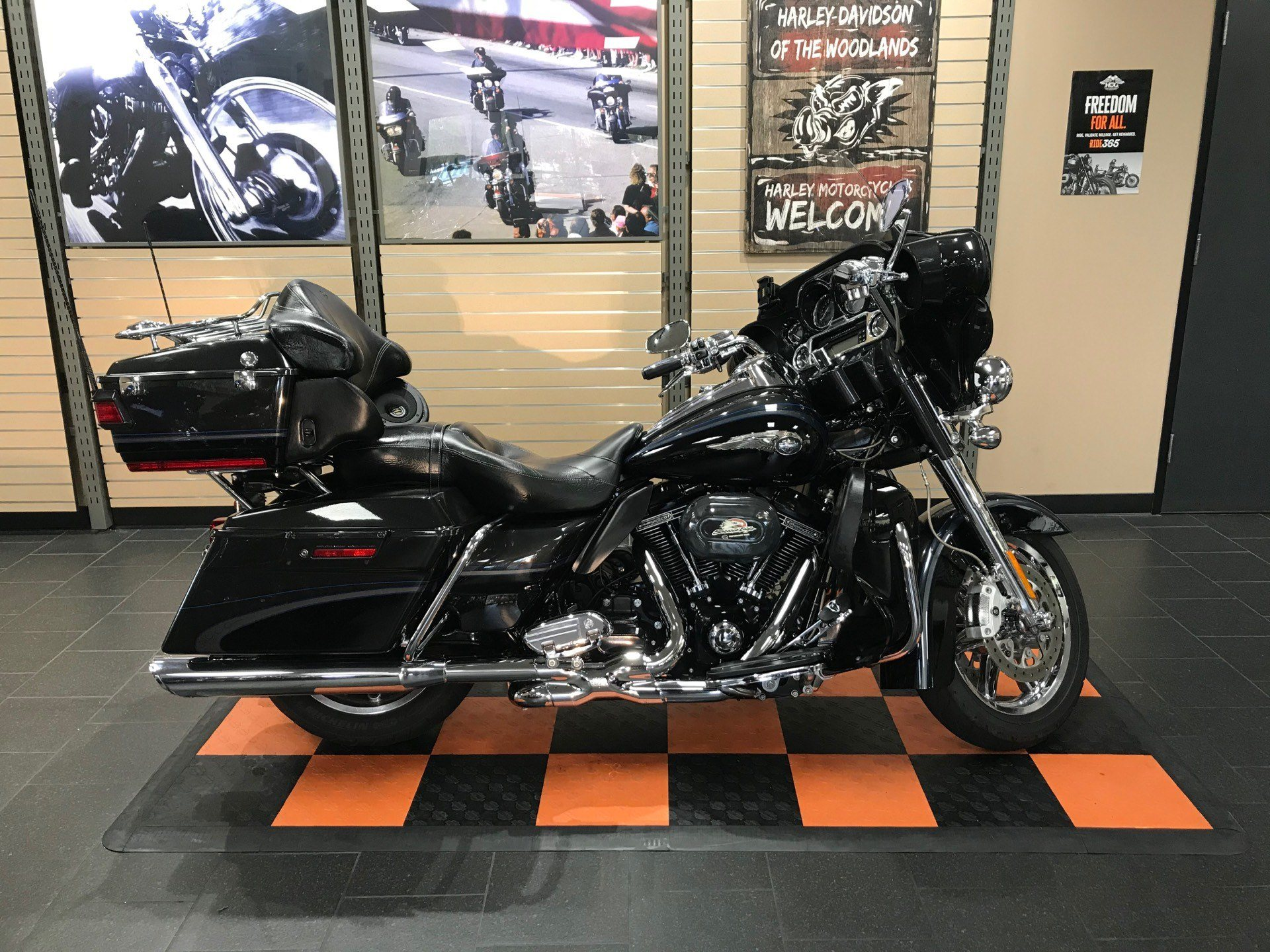 2013 Harley-Davidson CVO™ Ultra Classic® Electra Glide® 110th Anniversary Edition in The Woodlands, Texas - Photo 1