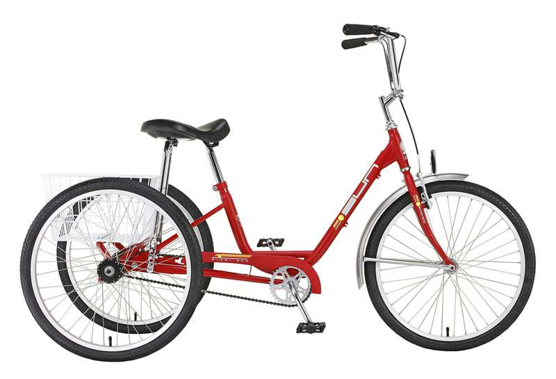 2016 Sun Bicycles Adult Trike traditional 24 red in Howell, Michigan