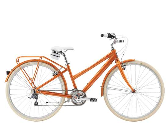 2014 Felt Bicycles Cafe 24 Deluxe Women's Tangerine in Howell, Michigan