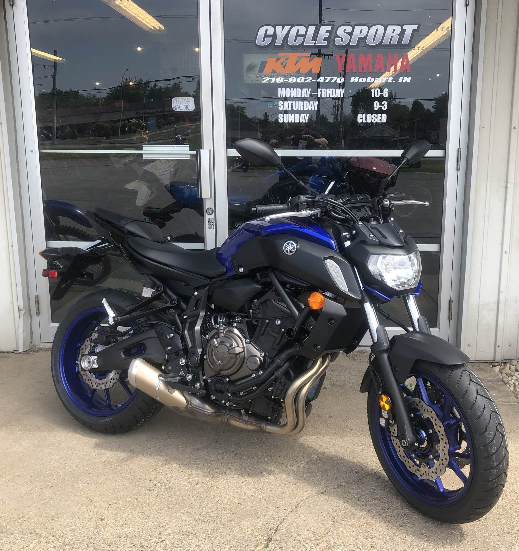 2018 Yamaha MT-07 in Hobart, Indiana