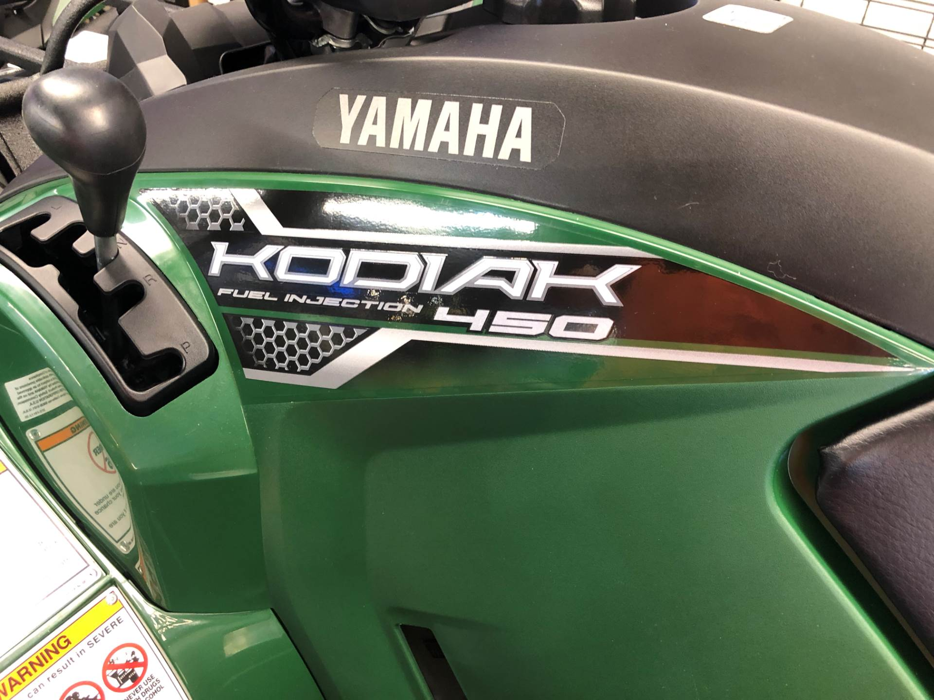 2018 Yamaha Kodiak 450 in Hobart, Indiana