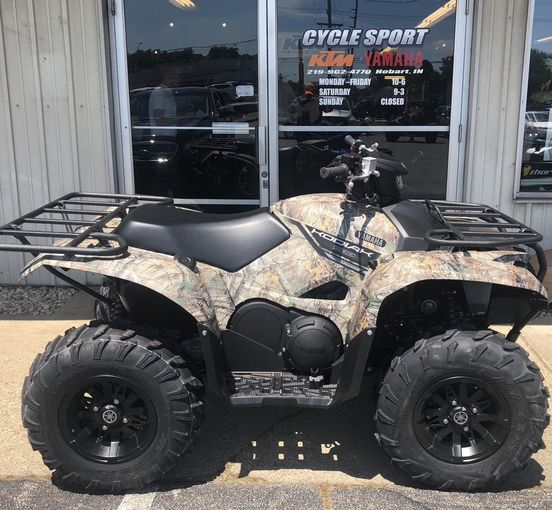 2018 Yamaha Kodiak 700 EPS 1