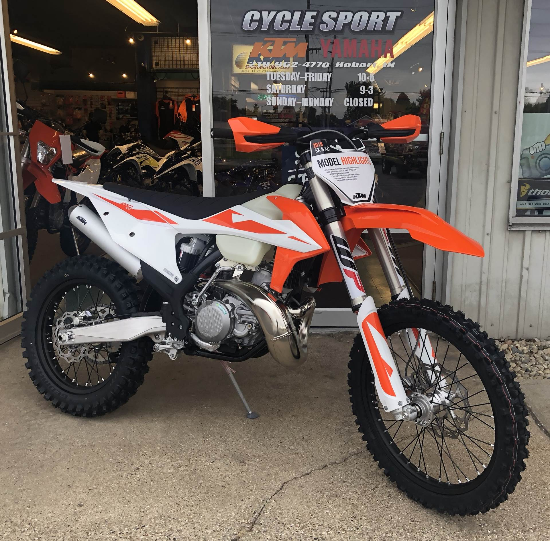 new 2019 ktm 250 xc motorcycles in hobart in stock. Black Bedroom Furniture Sets. Home Design Ideas