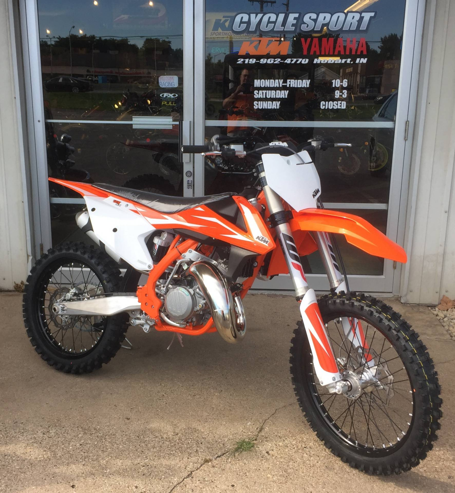 2018 ktm 125. perfect 125 2018 ktm 125 sx in hobart indiana in ktm k