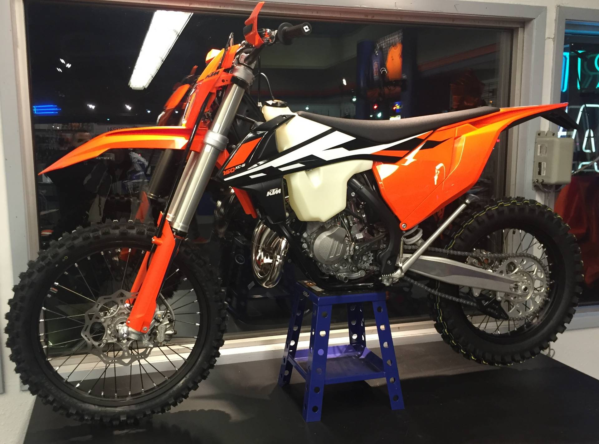 new 2017 ktm 150 xc-w motorcycles in hobart, in | stock number: n/a