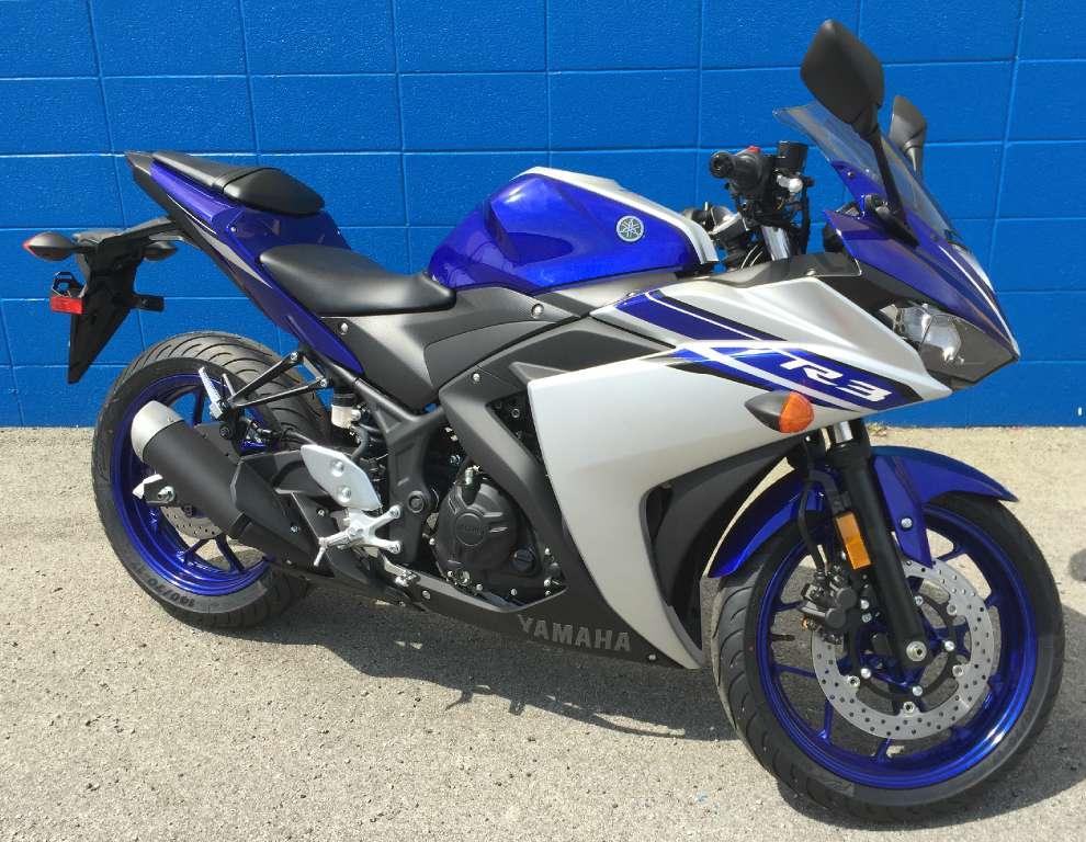 2016 Yamaha YZF-R3 1