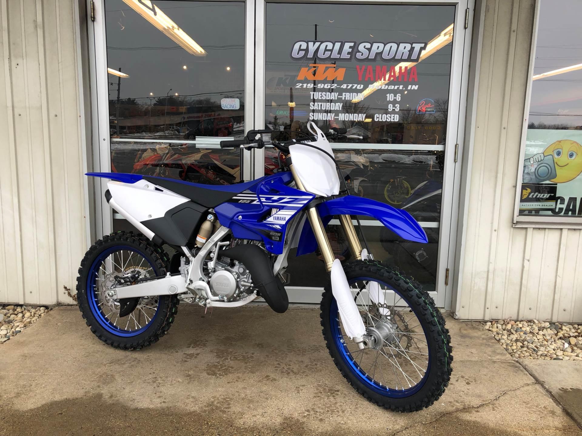 2019 Yamaha YZ125 in Hobart, Indiana