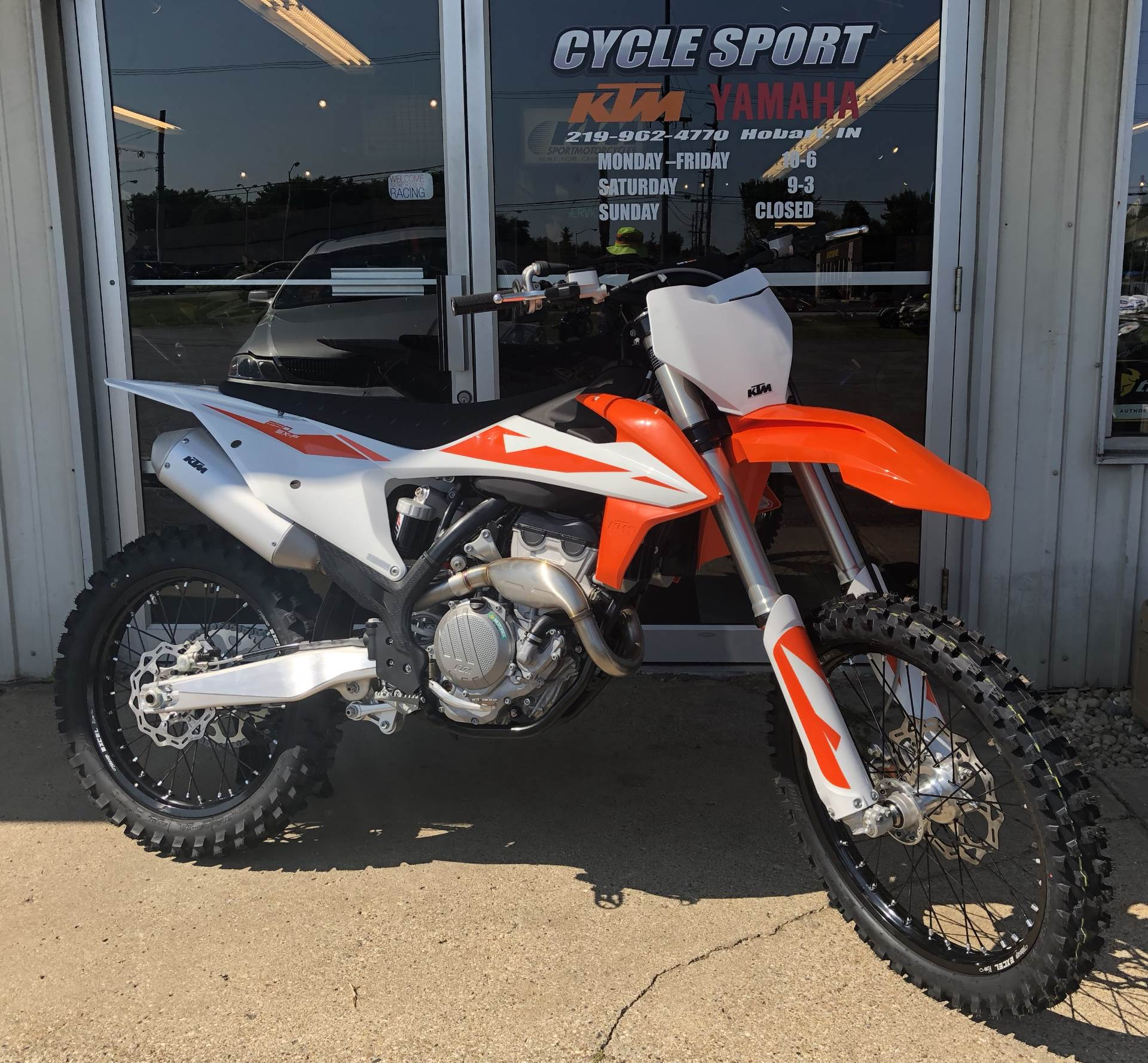 2019 ktm 250 sx f in hobart indiana photo 1