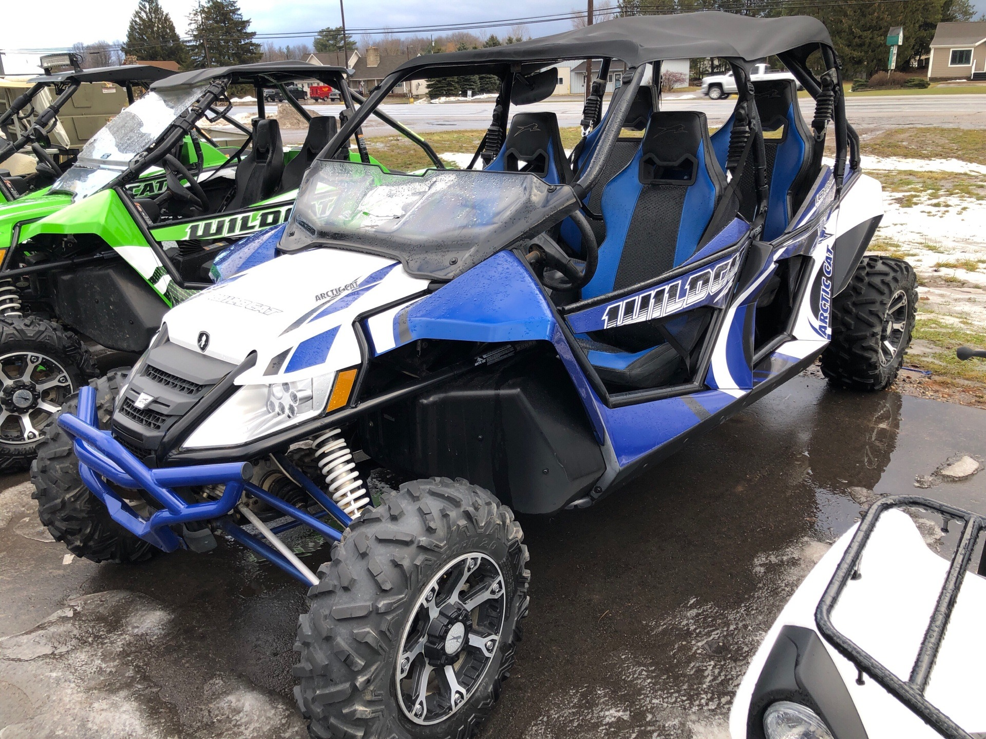 2014 Arctic Cat Wildcat 4 X for sale 4877