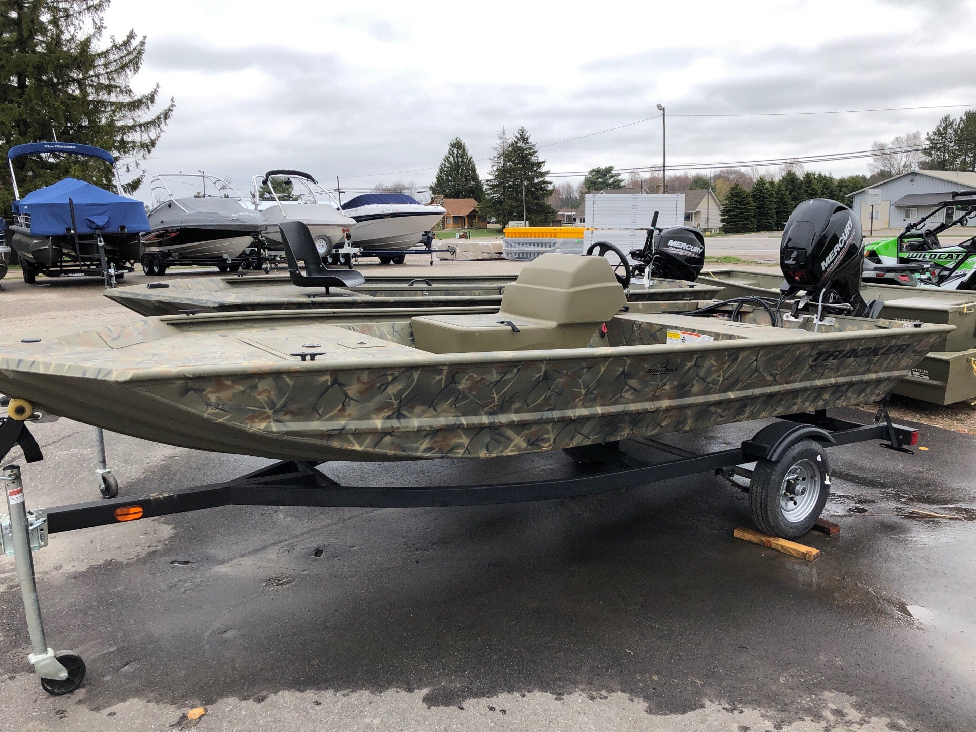 2019 Tracker Grizzly 1648 SC in Gaylord, Michigan