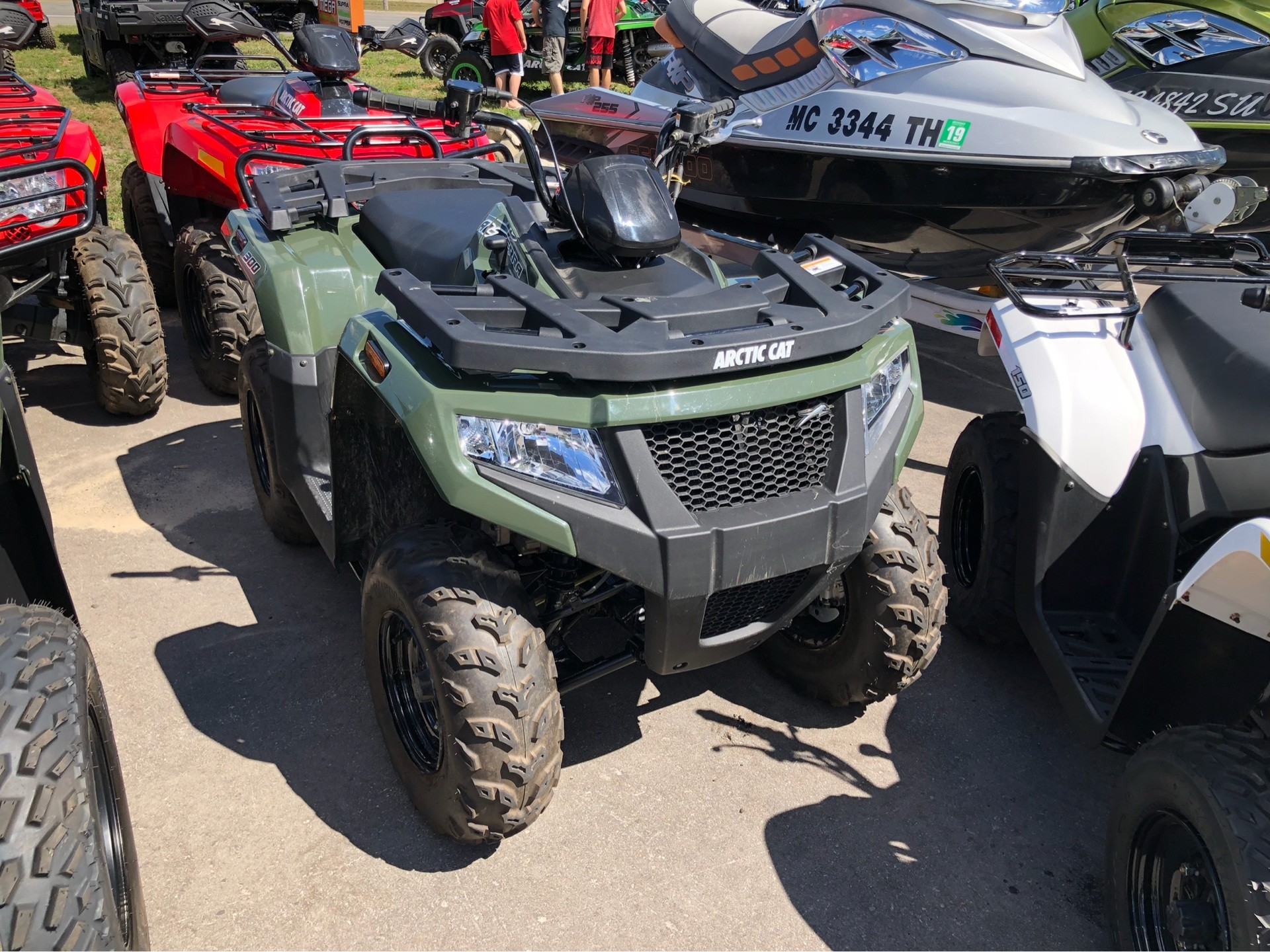 2017 Arctic Cat Alterra 300 in Gaylord, Michigan