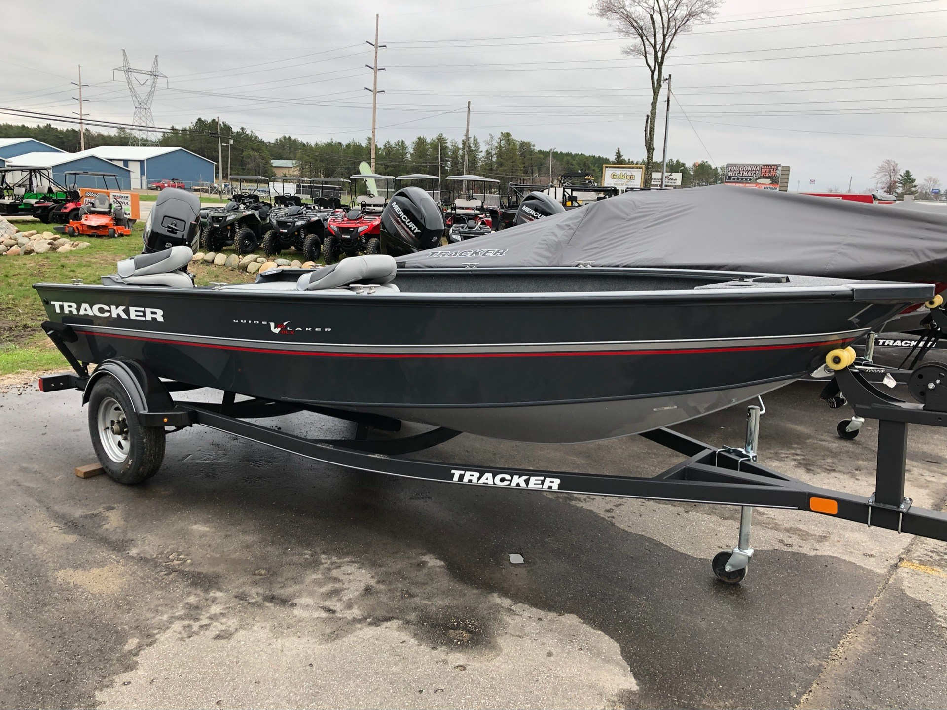 2019 Tracker Guide V-16 Laker DLX T in Gaylord, Michigan