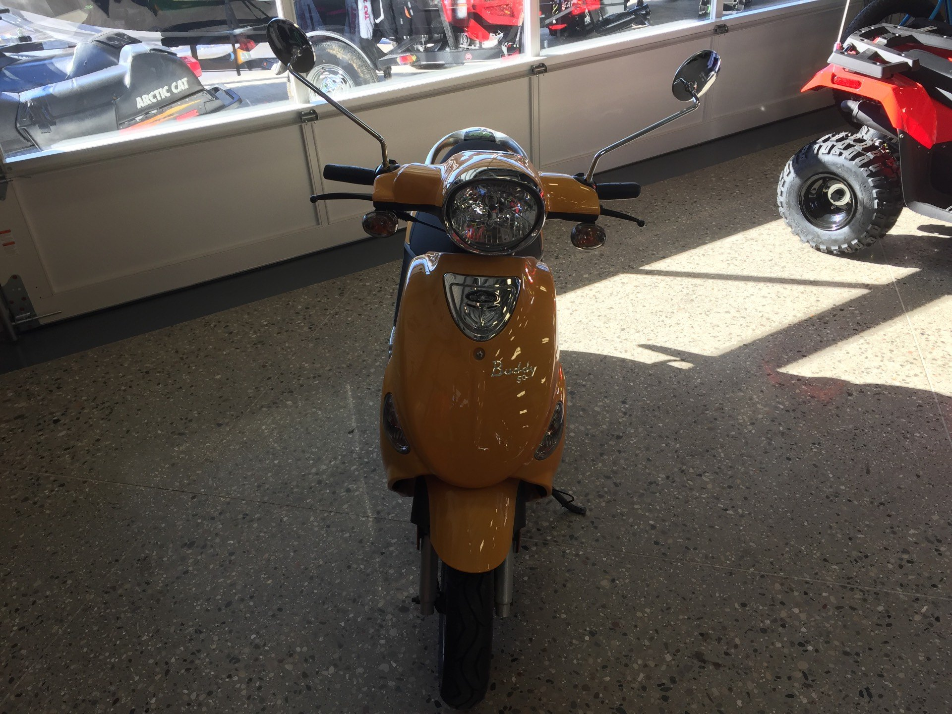 2015 Genuine Scooters Buddy 50 in Gaylord, Michigan