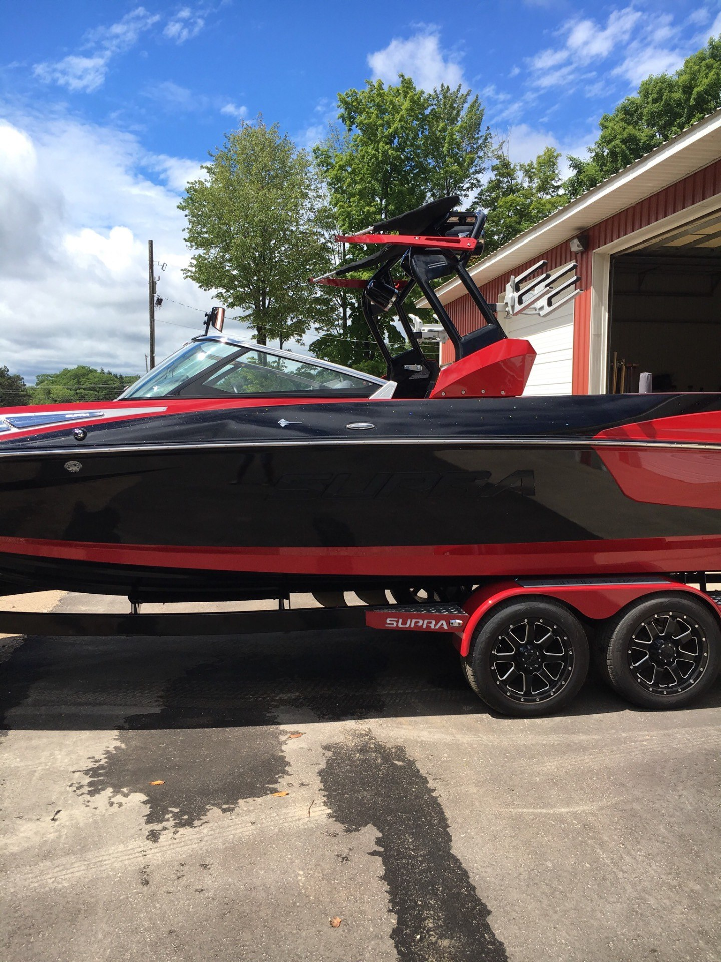 2015 Supra SG400-550 in Gaylord, Michigan