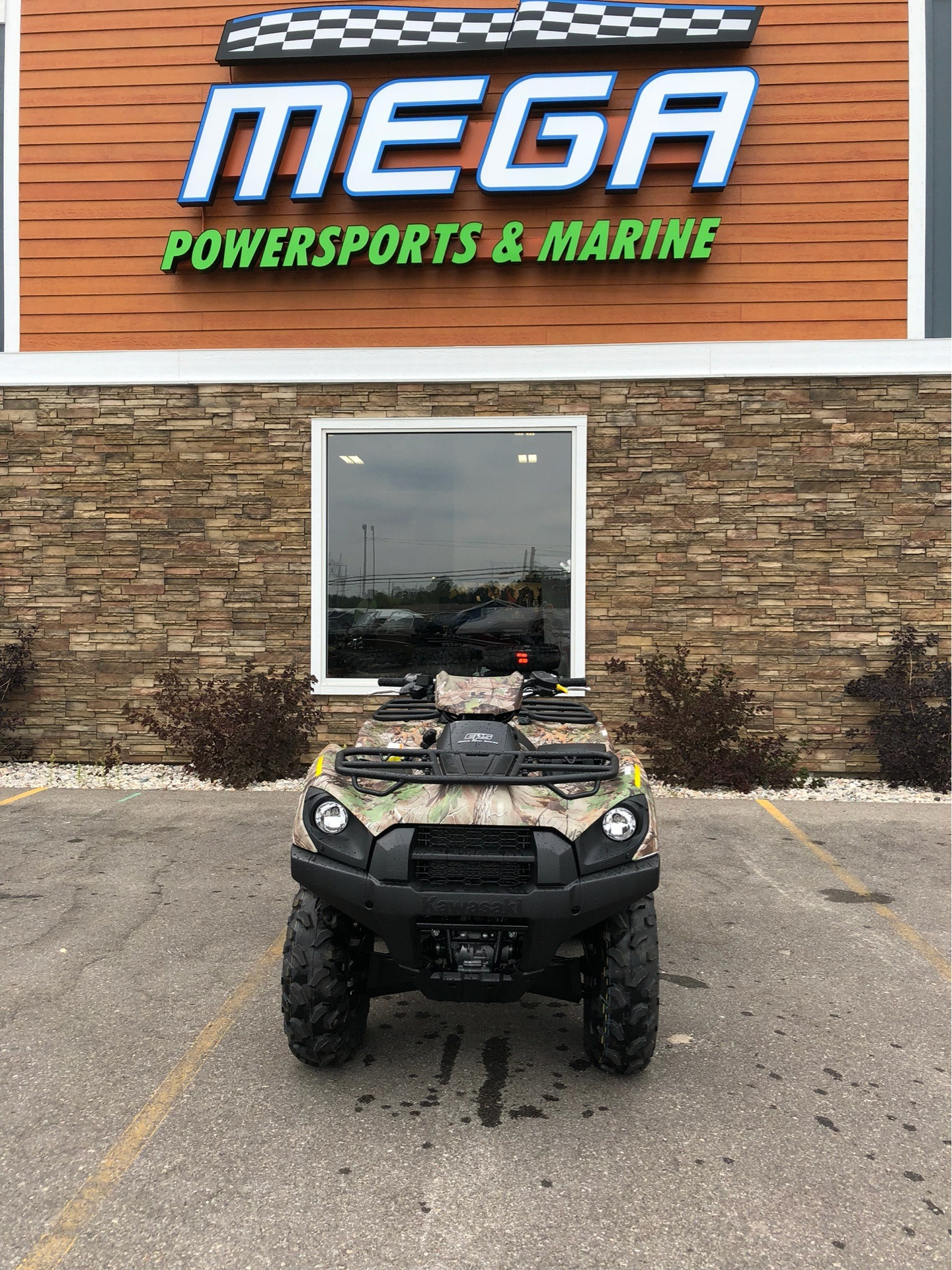 2019 Kawasaki Brute Force 750 4x4i EPS Camo in Gaylord, Michigan - Photo 1