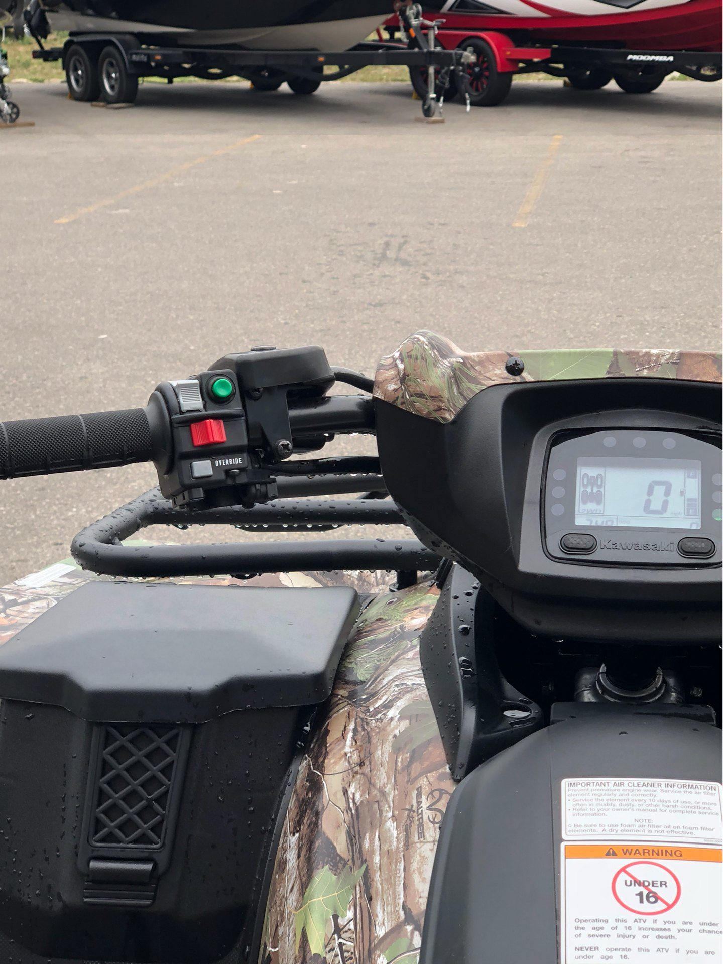 2019 Kawasaki Brute Force 750 4x4i EPS Camo in Gaylord, Michigan - Photo 5