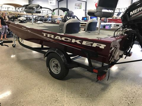 2017 Tracker Pro 170 in Gaylord, Michigan