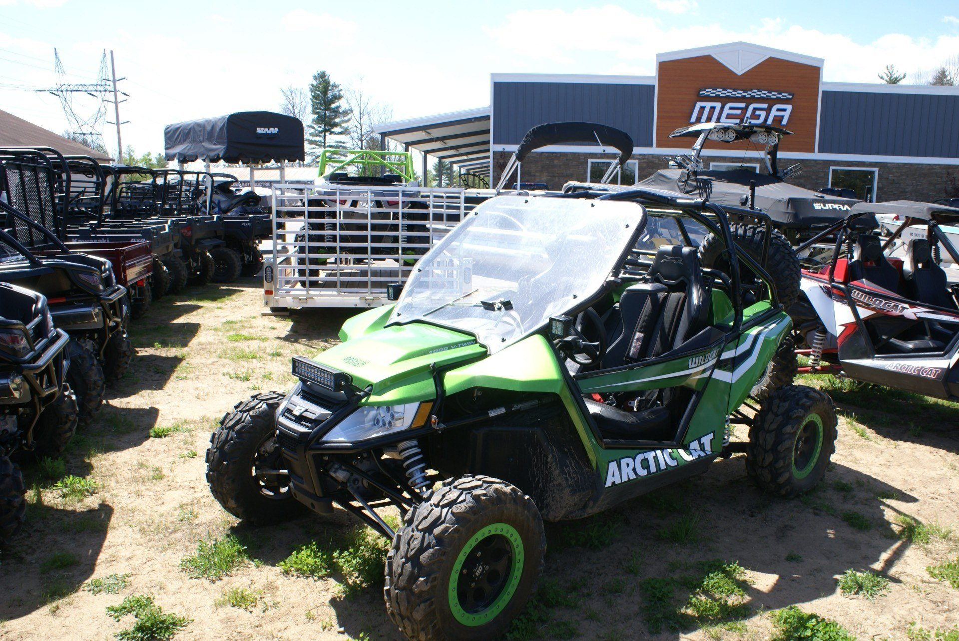 2012 Arctic Cat Wildcat™ 1000i H.O. in Gaylord, Michigan
