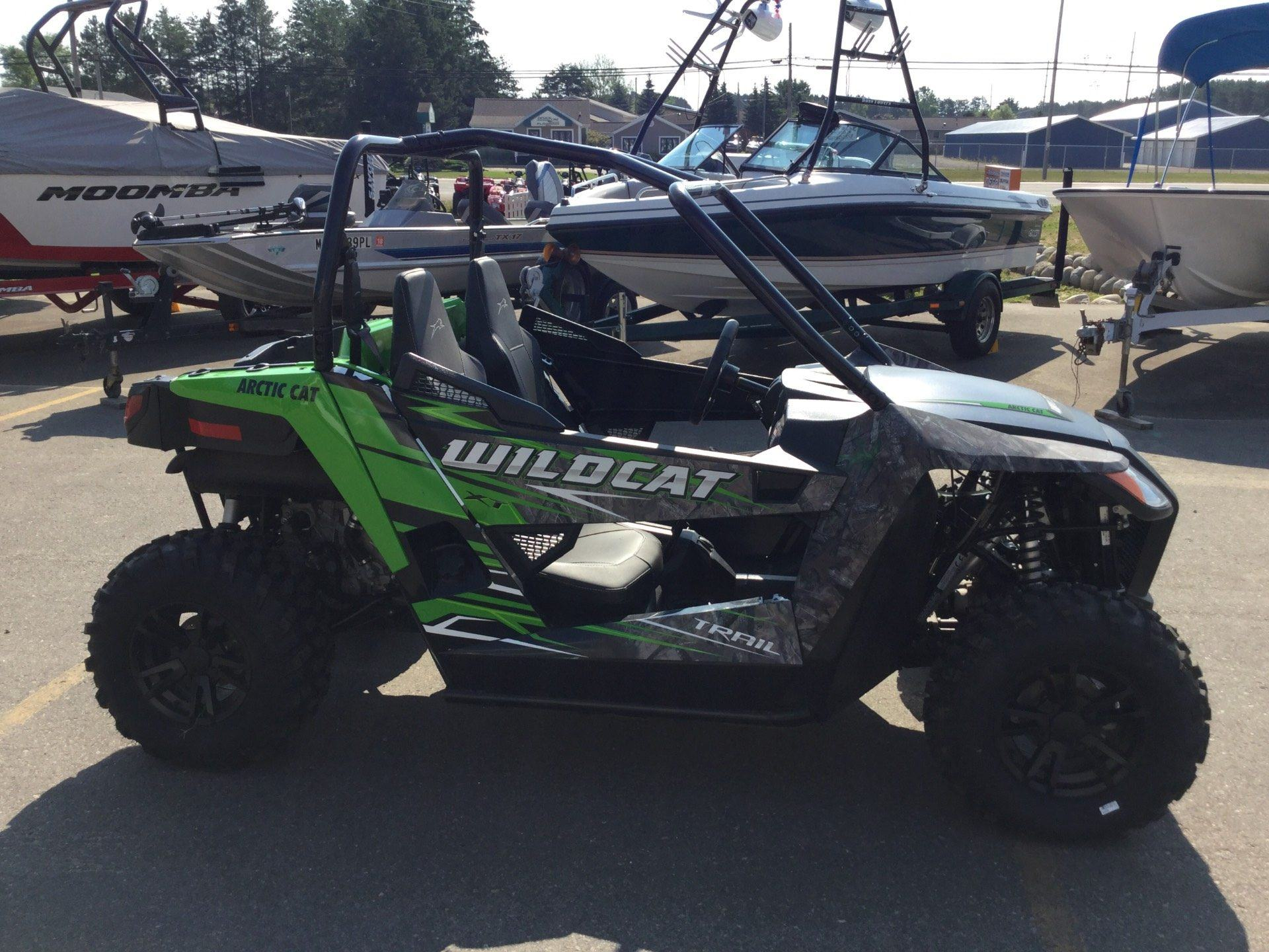 2017 Arctic Cat Wildcat Trail XT EPS in Gaylord, Michigan