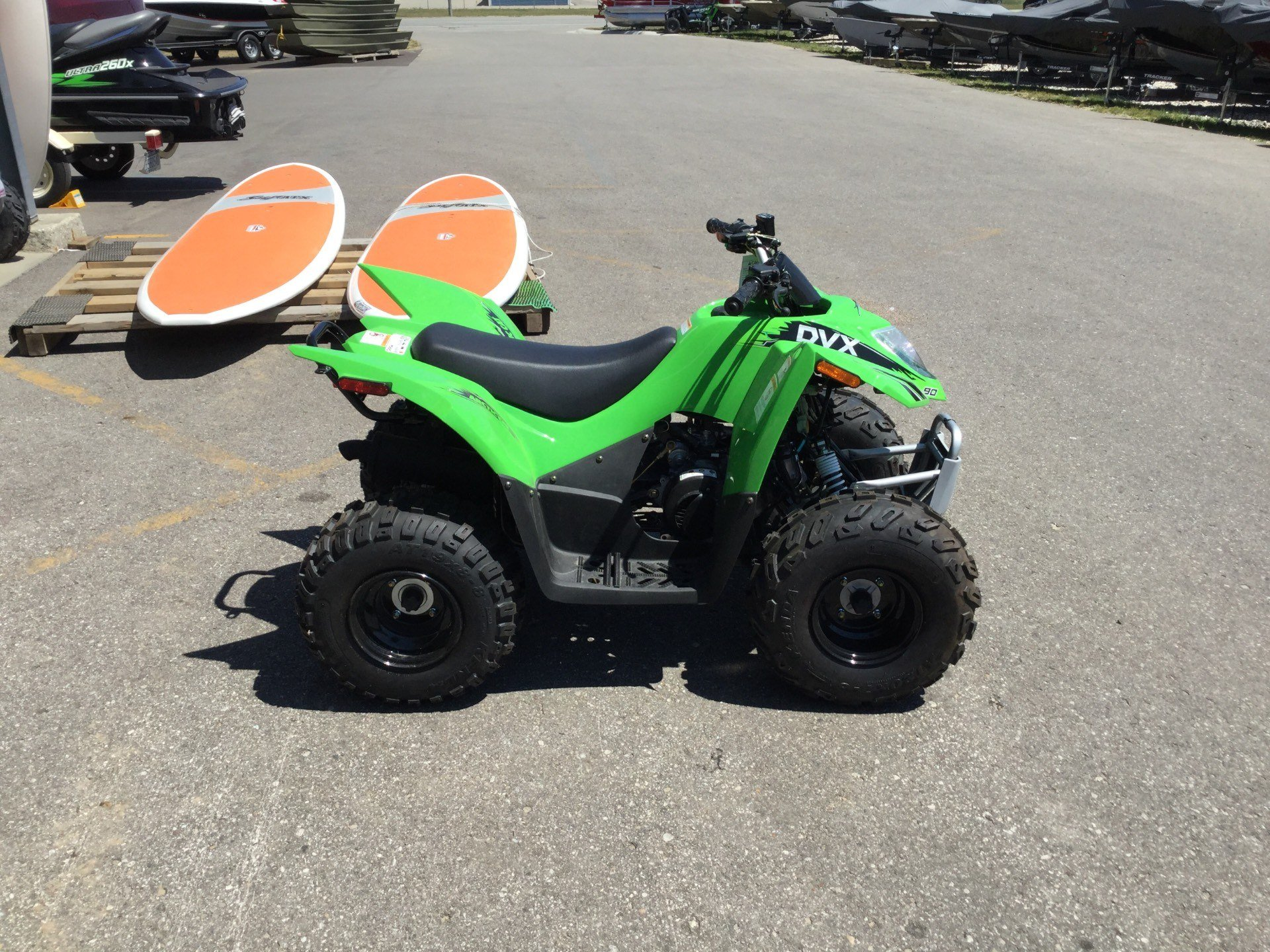 2017 Arctic Cat DVX 90 in Gaylord, Michigan