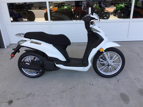 2018 Genuine Scooters VENTURE WHITE in Gaylord, Michigan