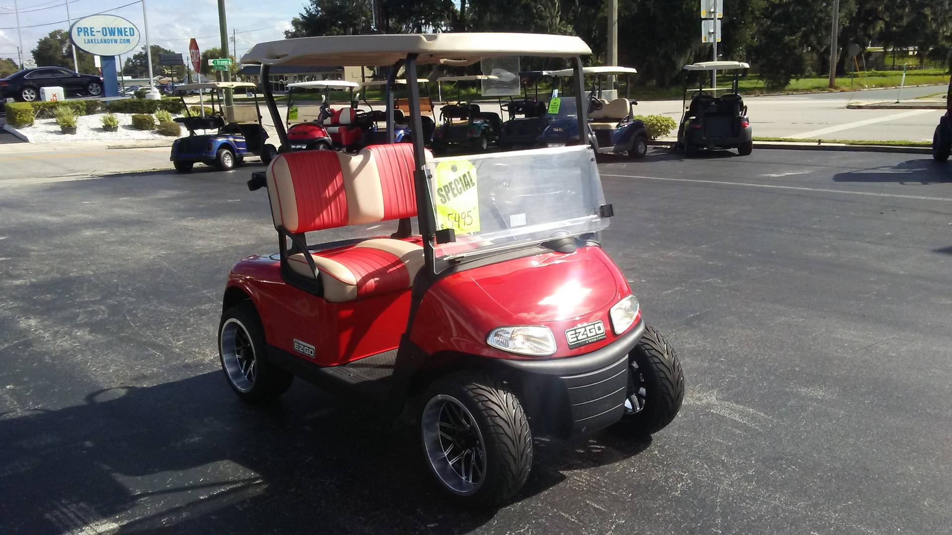 Used 2017 E Z Go Golf Rxv Electric Golf Carts In Lakeland