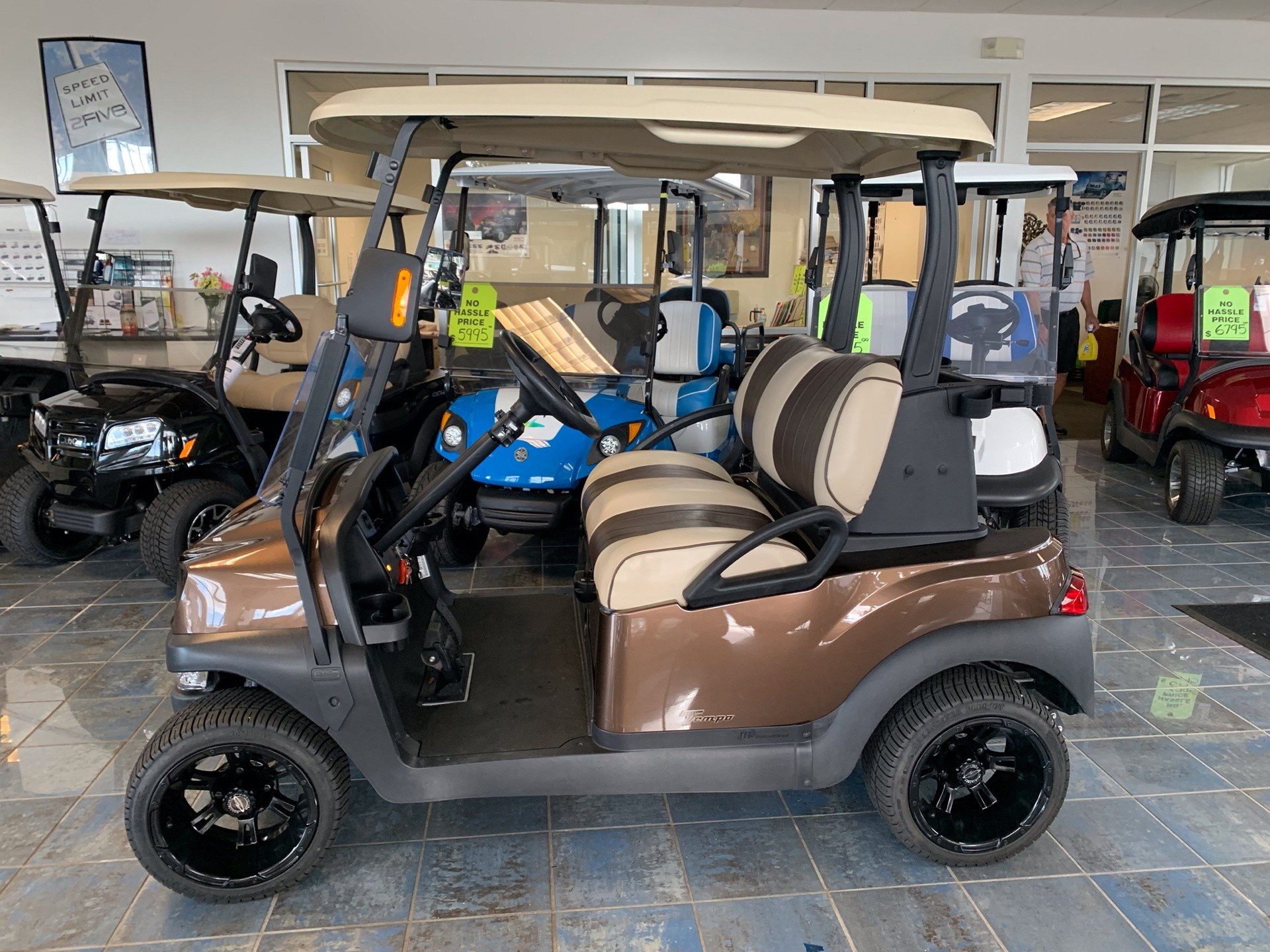 2019 Club Car Tempo Electric in Lakeland, Florida - Photo 4