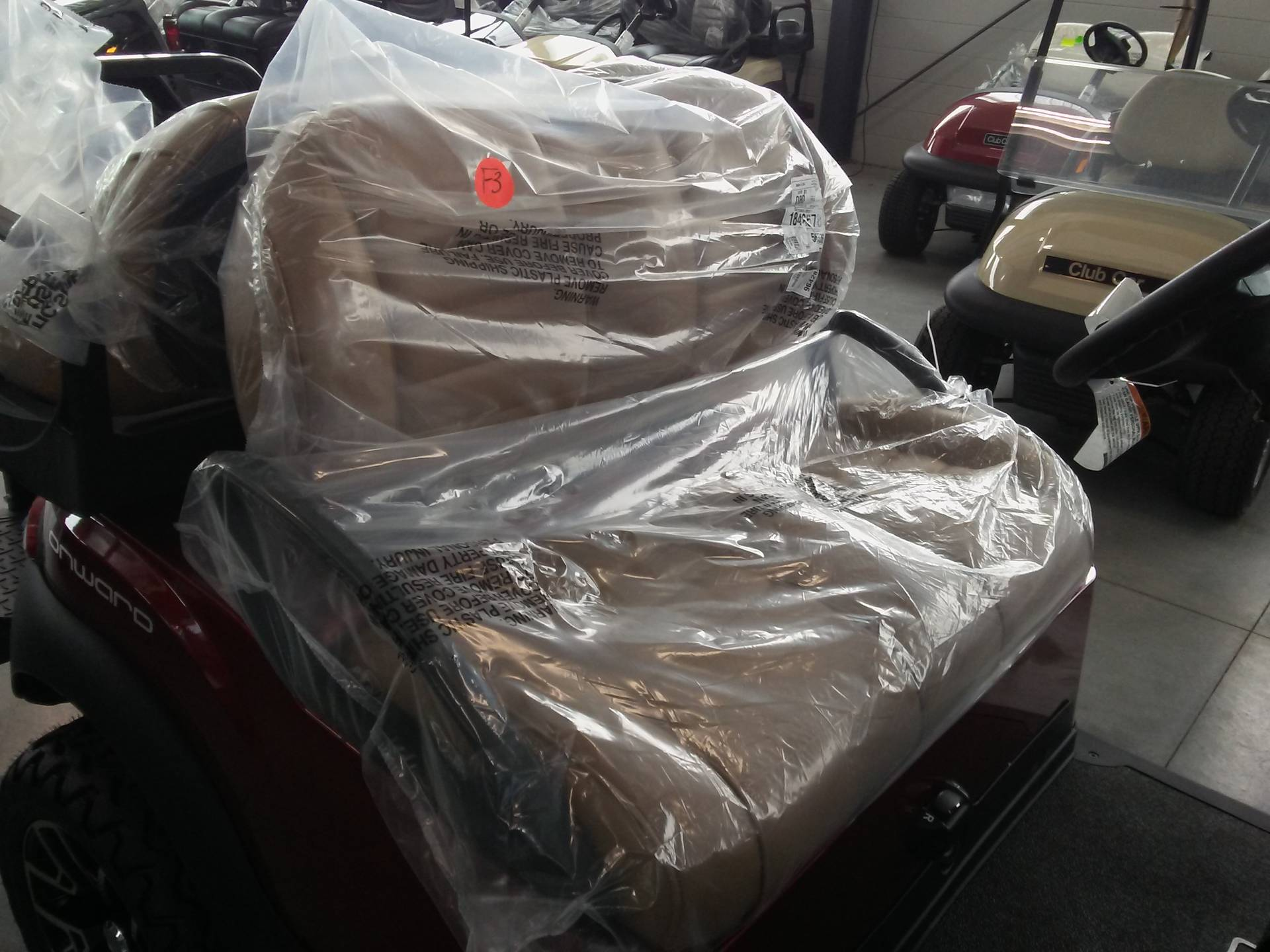 2019 Club Car Onward Lifted 4 Passenger Electric in Lakeland, Florida - Photo 9