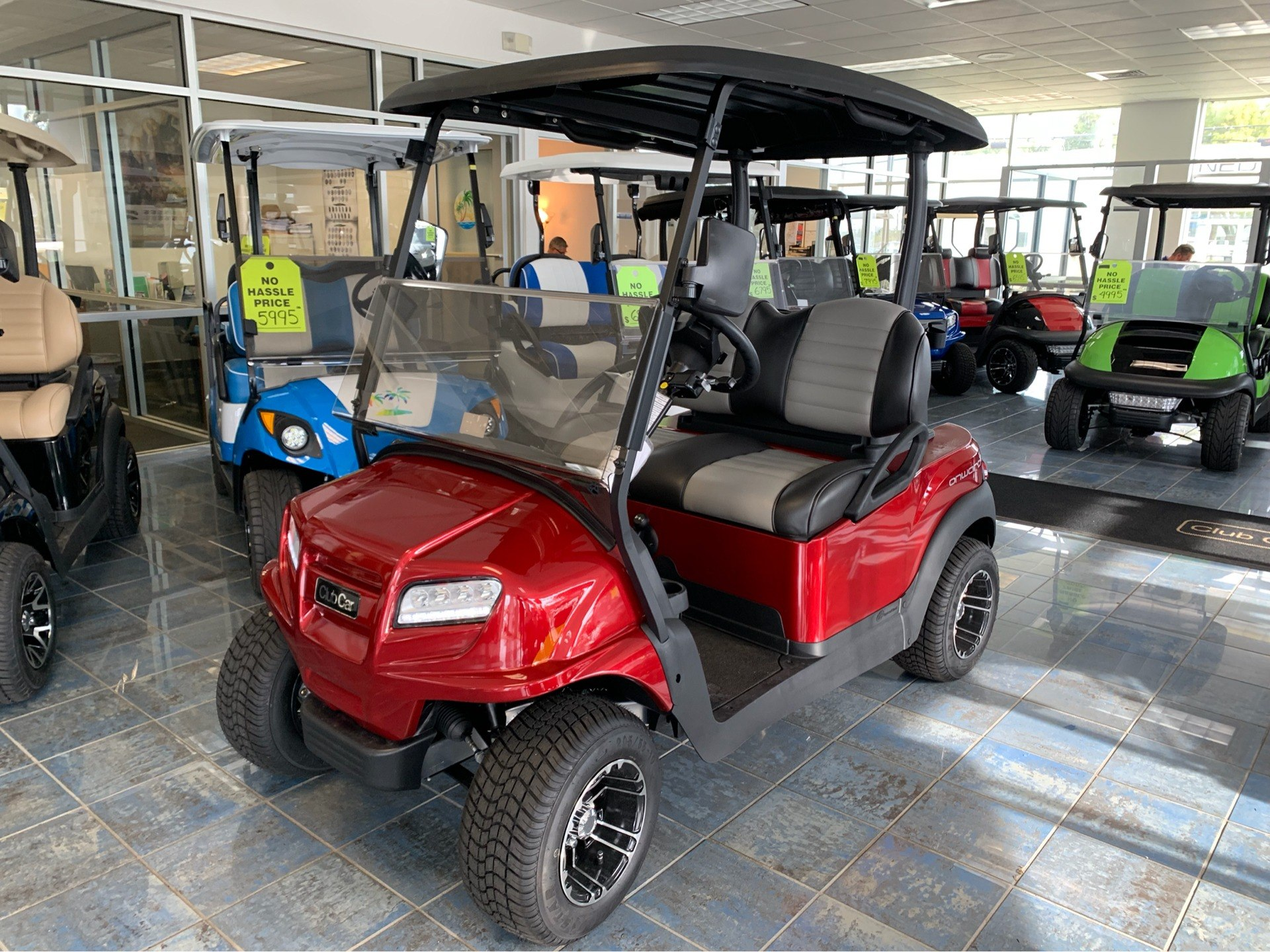 2019 Club Car Onward 2 Passenger Gasoline in Lakeland, Florida - Photo 8