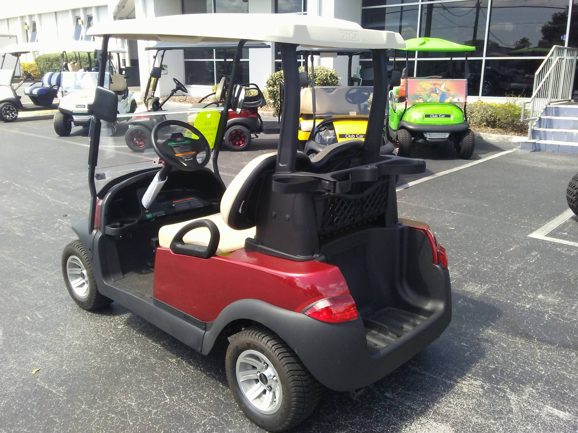 2018 Club Car Villager 2 Electric in Lakeland, Florida - Photo 2