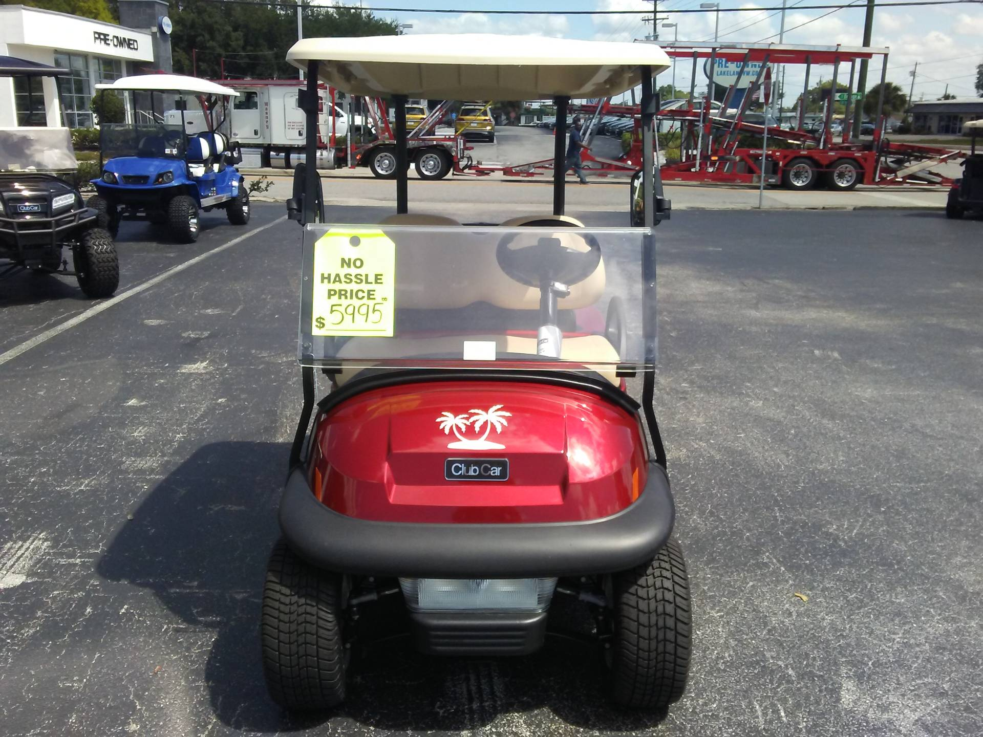 2018 Club Car Villager 2 Electric in Lakeland, Florida - Photo 4