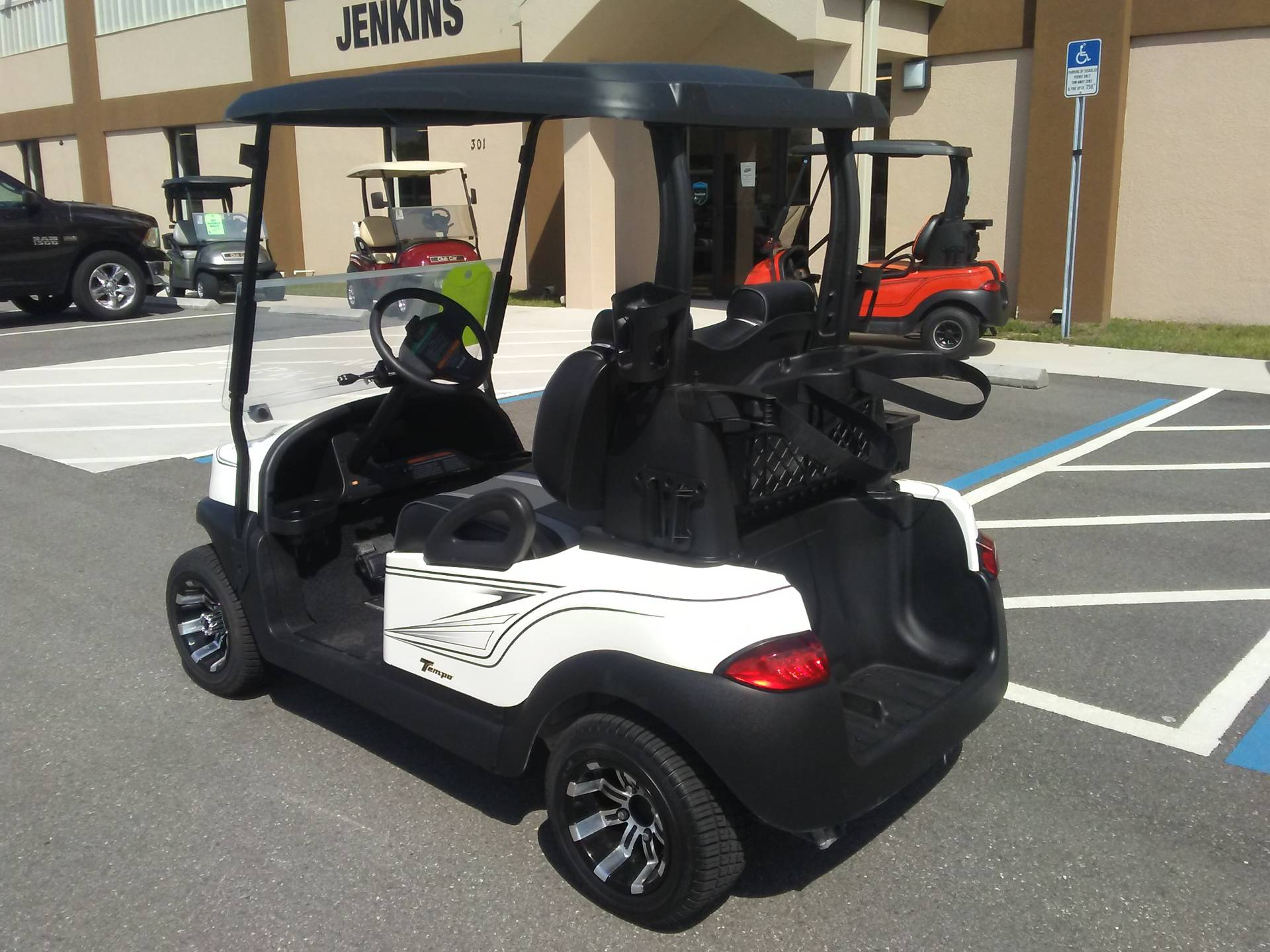 2019 Club Car Tempo Electric in Lakeland, Florida - Photo 2