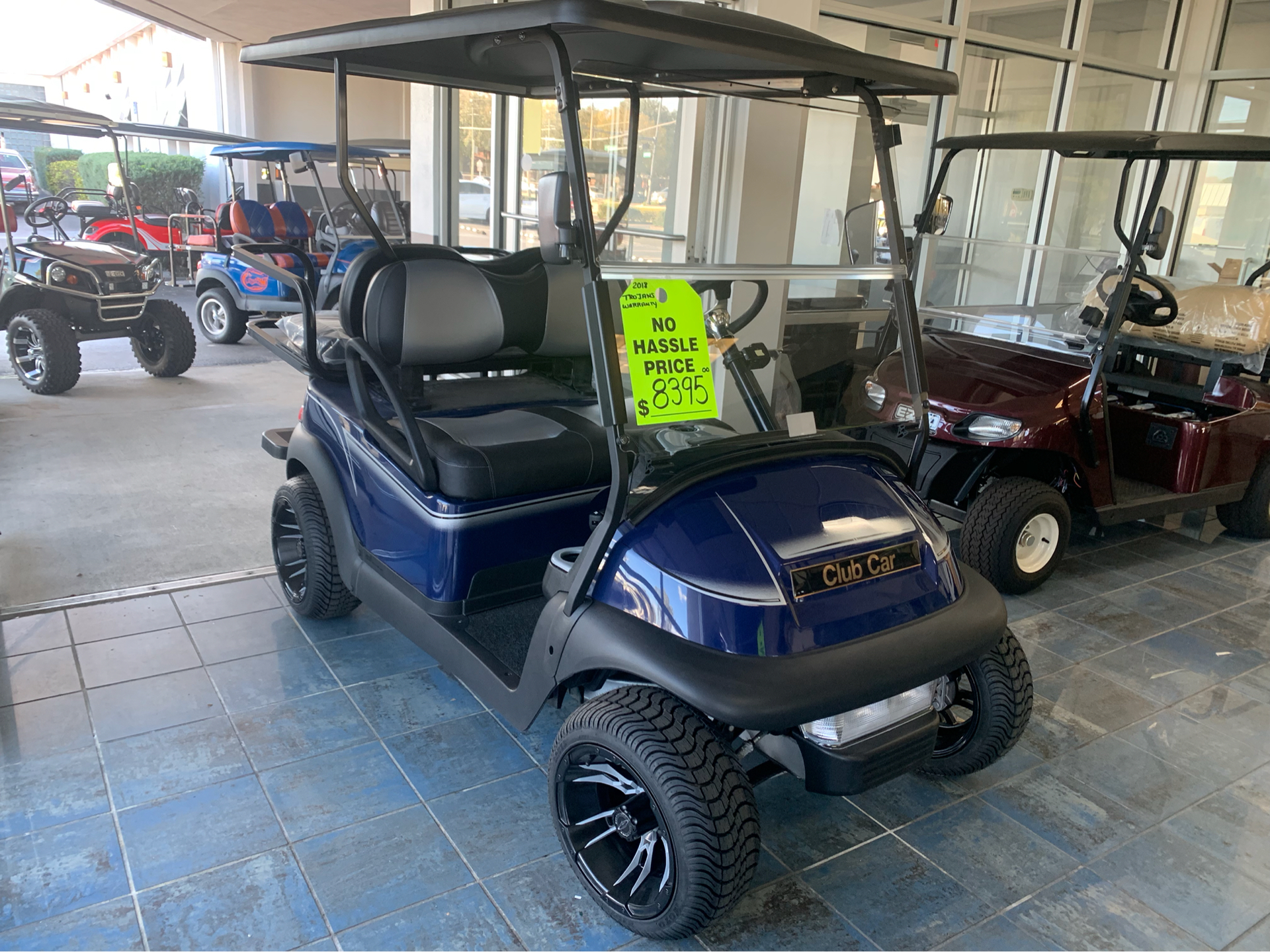 Used 2018 Club Car Precedent I2 Electric Golf Carts In