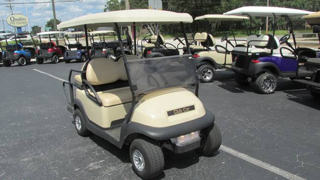 2016 Club Car Villager 4 Gasoline in Lakeland, Florida - Photo 1