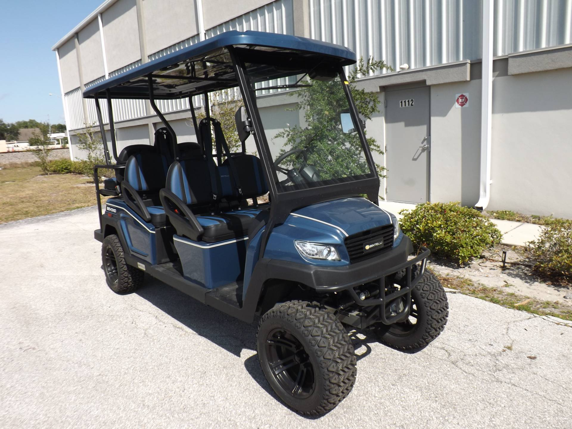 2021 Bintelli BEYOND 6P LIFTED STREET LEGAL GOLF CART in Lakeland, Florida - Photo 1