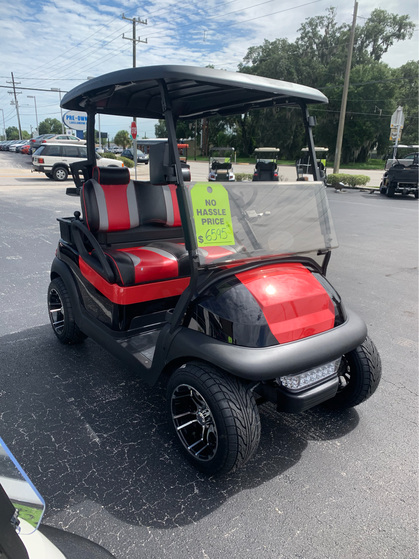 2015 Club Car Precedent i2 Electric in Lakeland, Florida - Photo 1