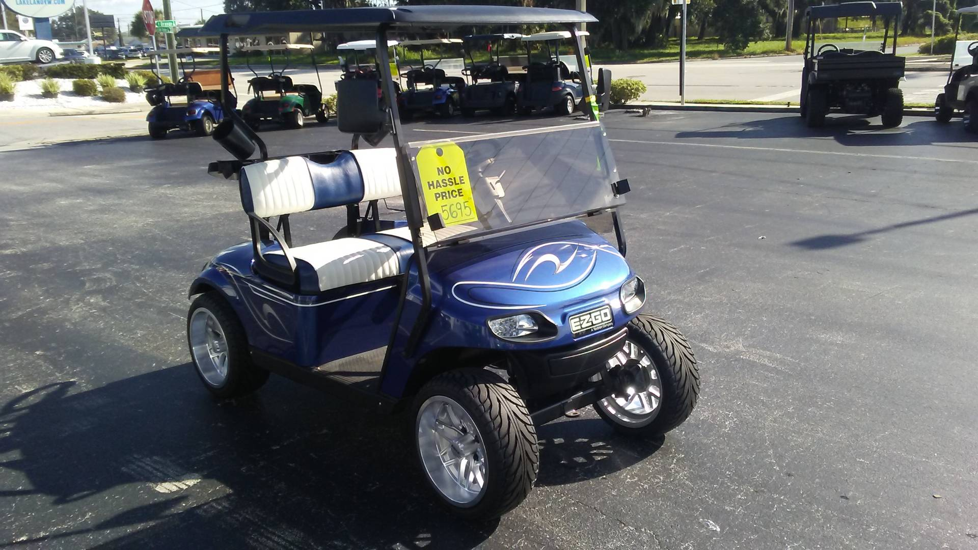 Used 2016 E Z Go Txt Electric Golf Carts In Lakeland Fl