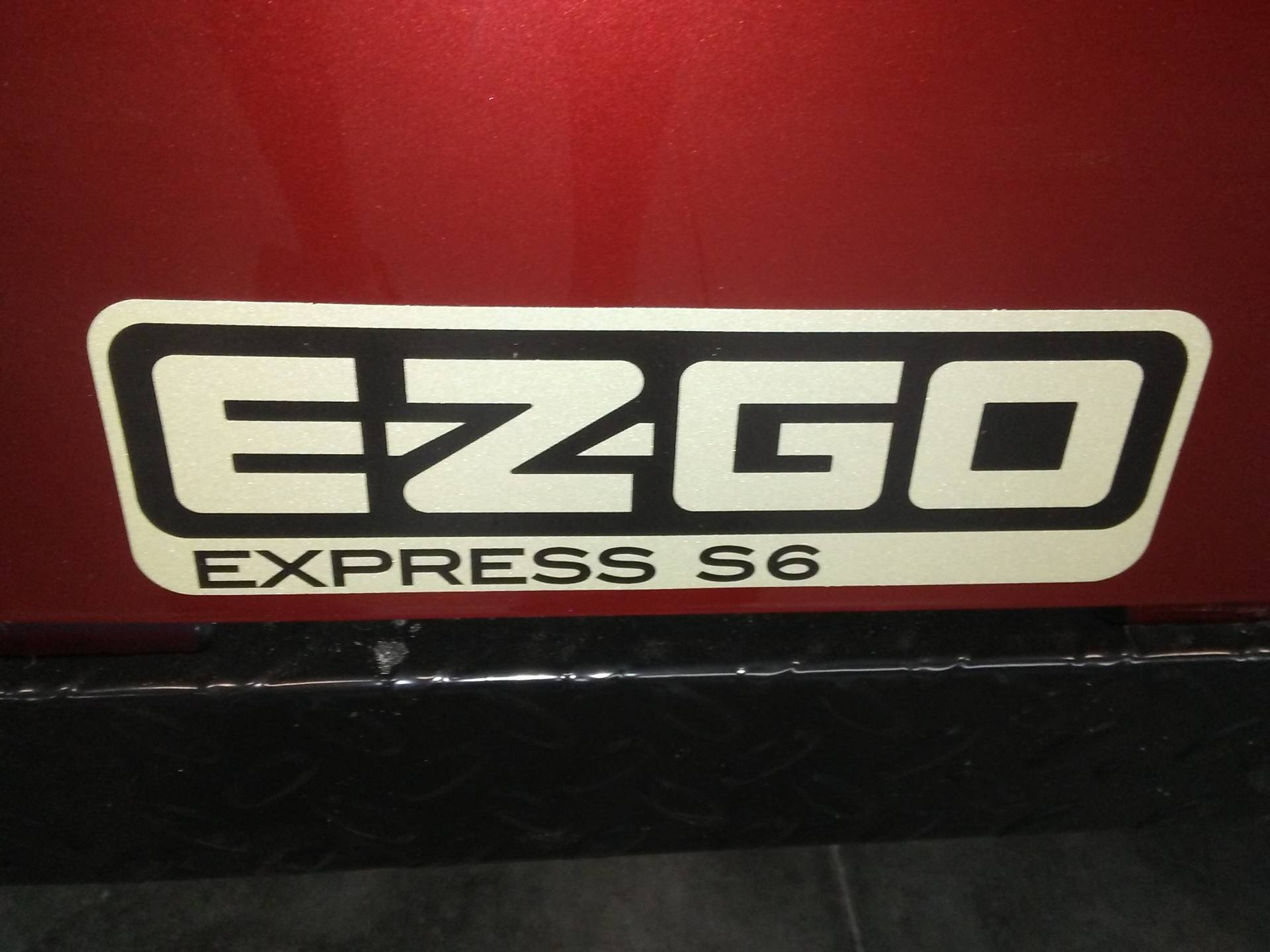 2018 E-Z-Go Express S6 Gas in Lakeland, Florida - Photo 16