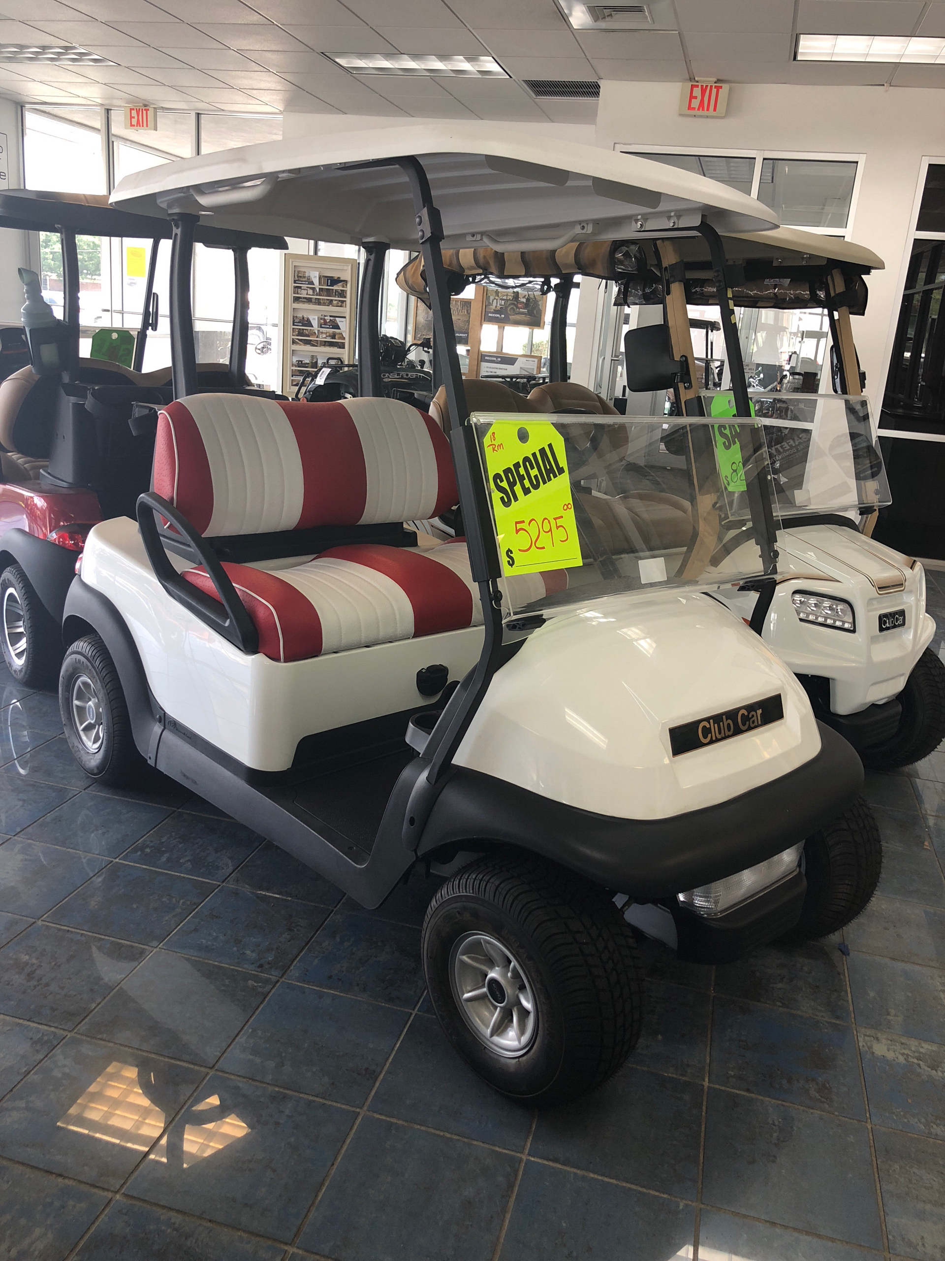 Used 2018 club car precedent i2 electric golf carts in for Lakeland motor vehicle and driver license services lakeland fl