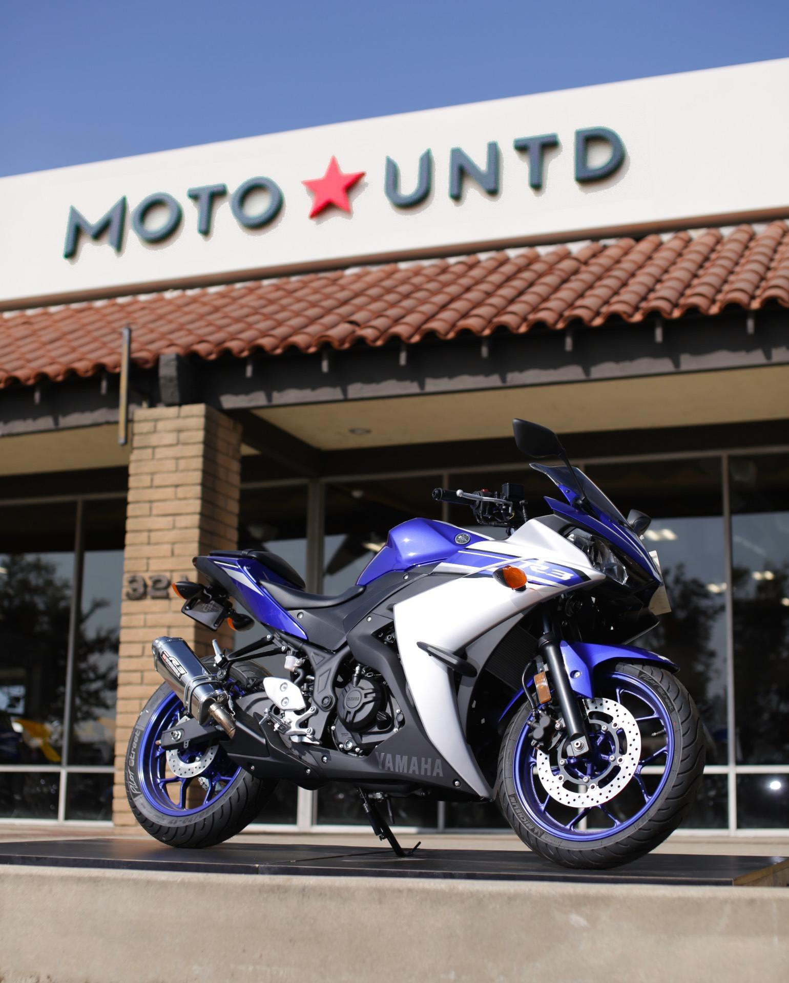 2016 Yamaha YZF-R3 for sale 3528