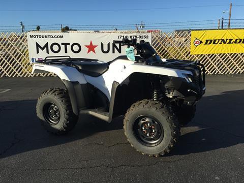 2016 Honda FourTrax Rancher 4X4 Automatic DCT IRS EPS in La Habra, California