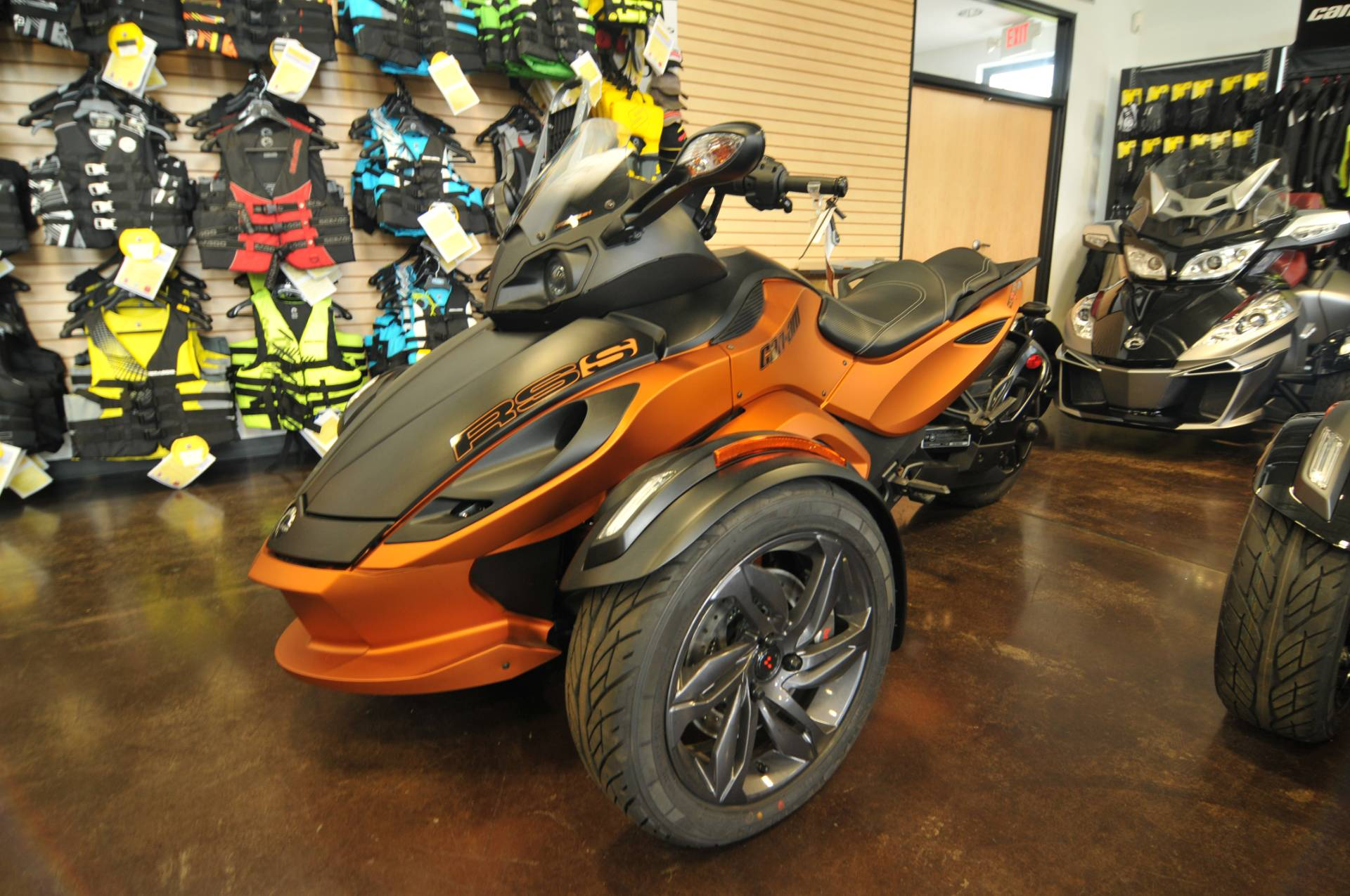 2013 Can-Am Spyder® RS-S SE5 in Portland, Oregon