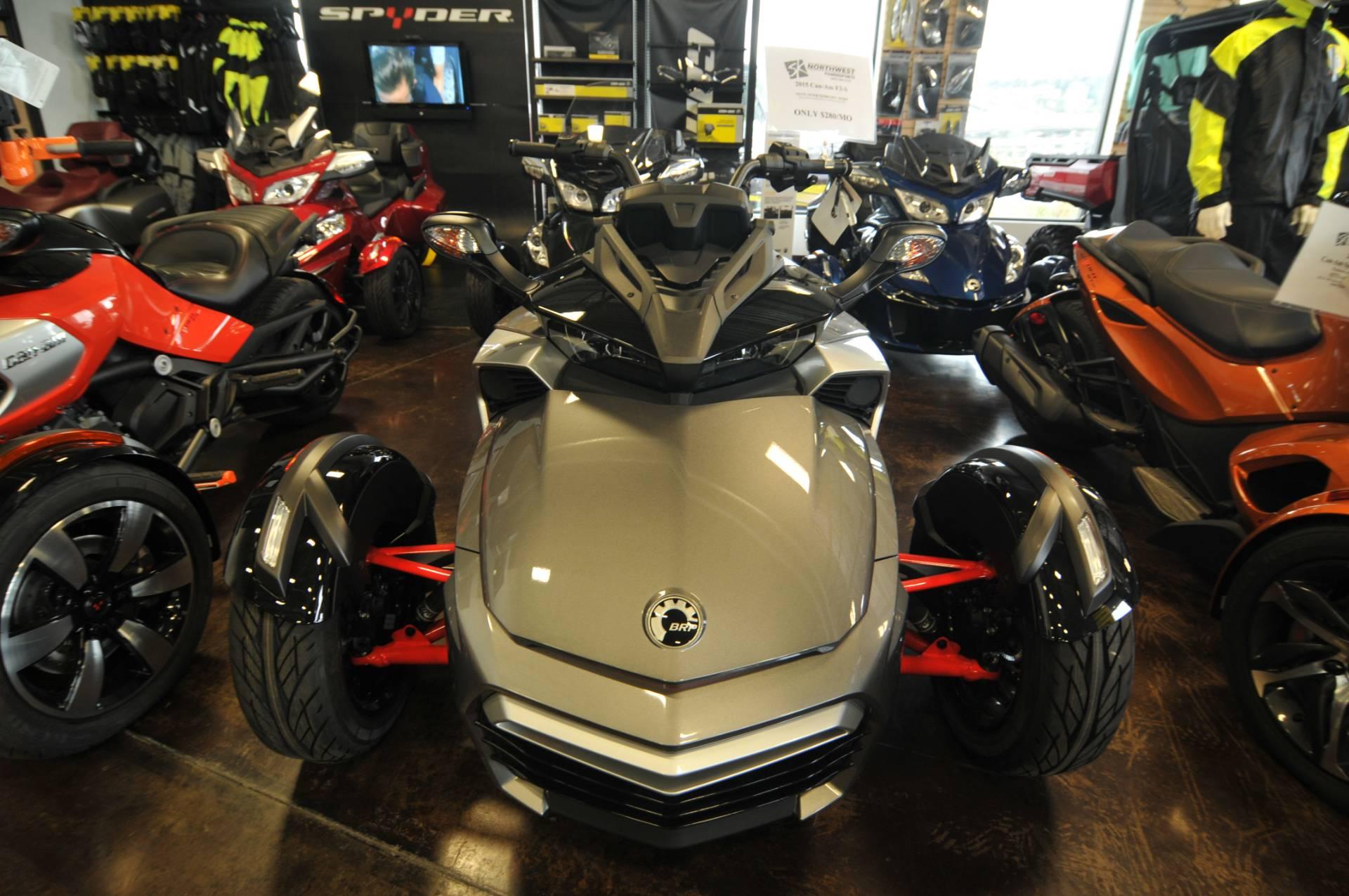2015 Can-Am Spyder® F3-S SE6 in Portland, Oregon