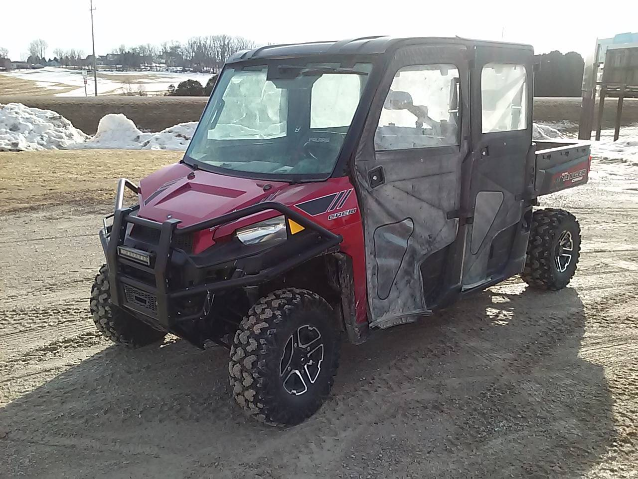 2014 Polaris Ranger Crew® 900 EPS LE in Calmar, Iowa - Photo 5