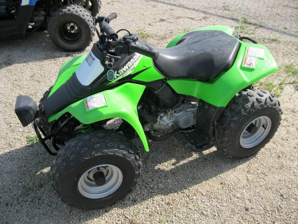 Used 2006 Kawasaki KFX® 80 ATVs in Calmar, IA