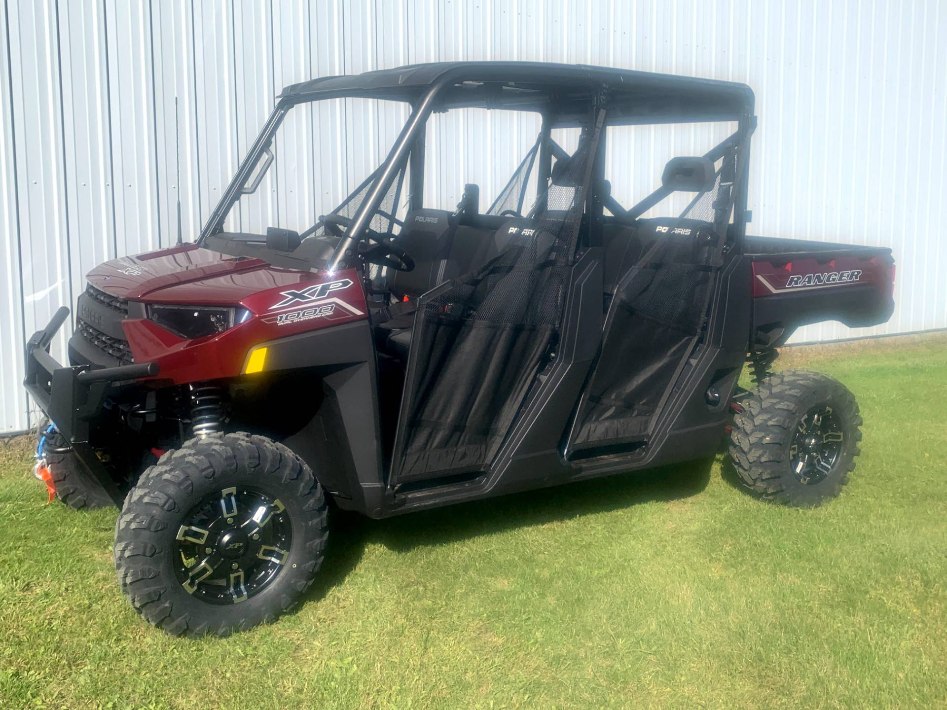 2021 Polaris Ranger Crew XP 1000 Premium + Ride Command Package in Calmar, Iowa - Photo 1