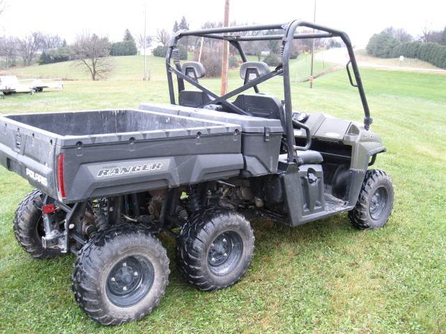 2011 Polaris Ranger® 6X6 800 in Calmar, Iowa