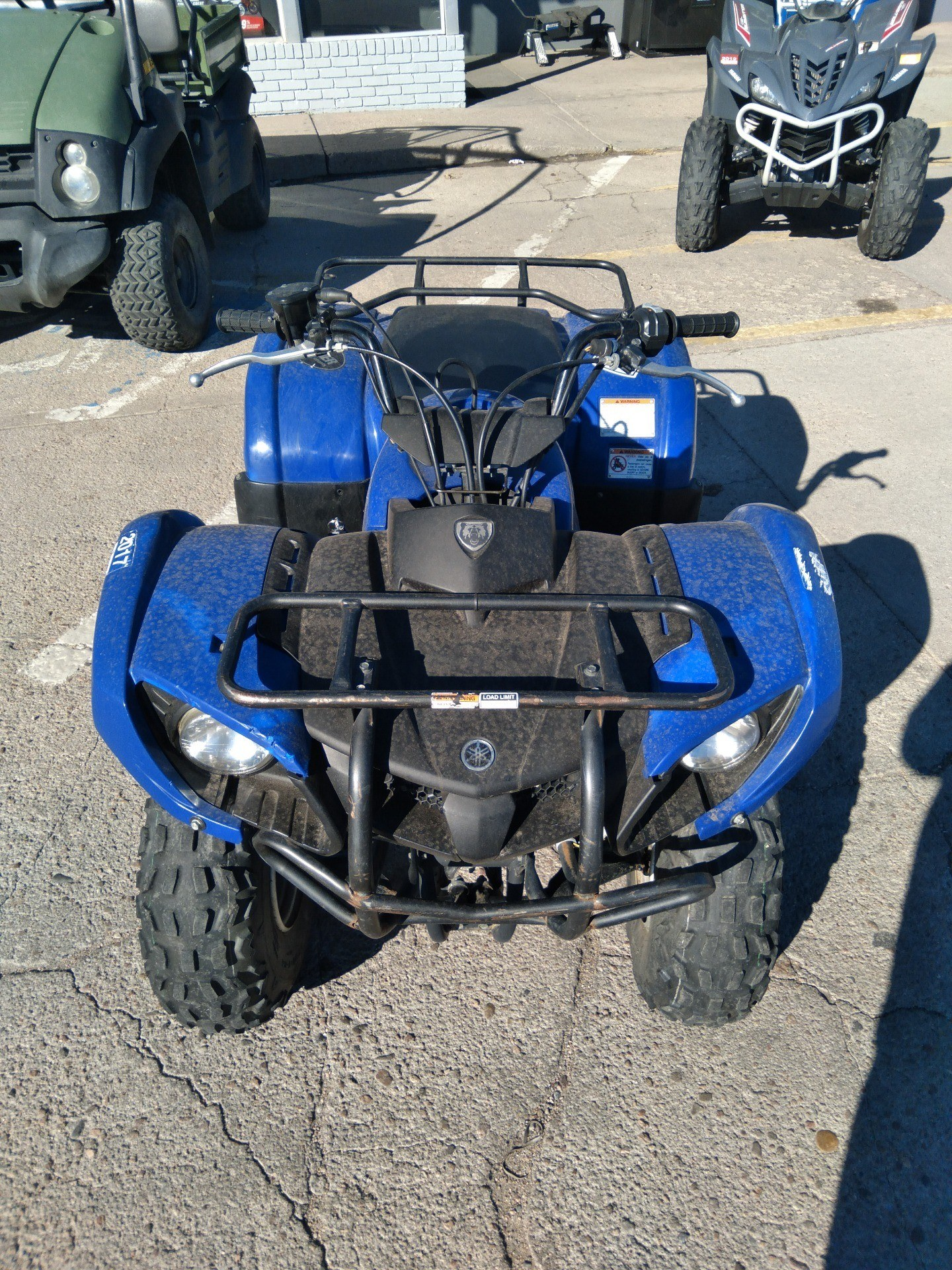 2006 Yamaha Grizzly 125 Automatic in Sterling, Colorado - Photo 2