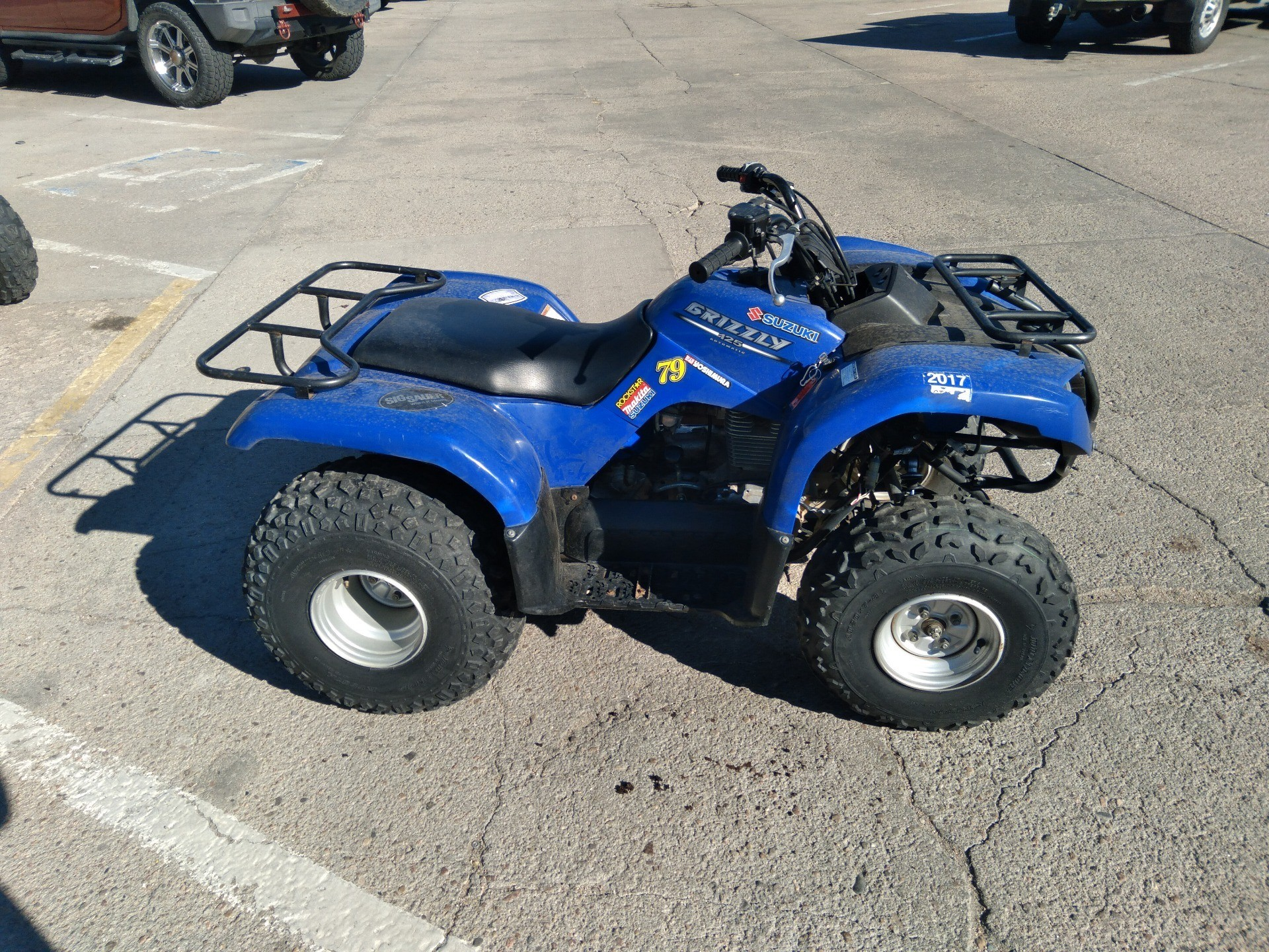 2006 Yamaha Grizzly 125 Automatic in Sterling, Colorado - Photo 3